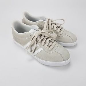 [Adidas] Suede Courtset Sneakers